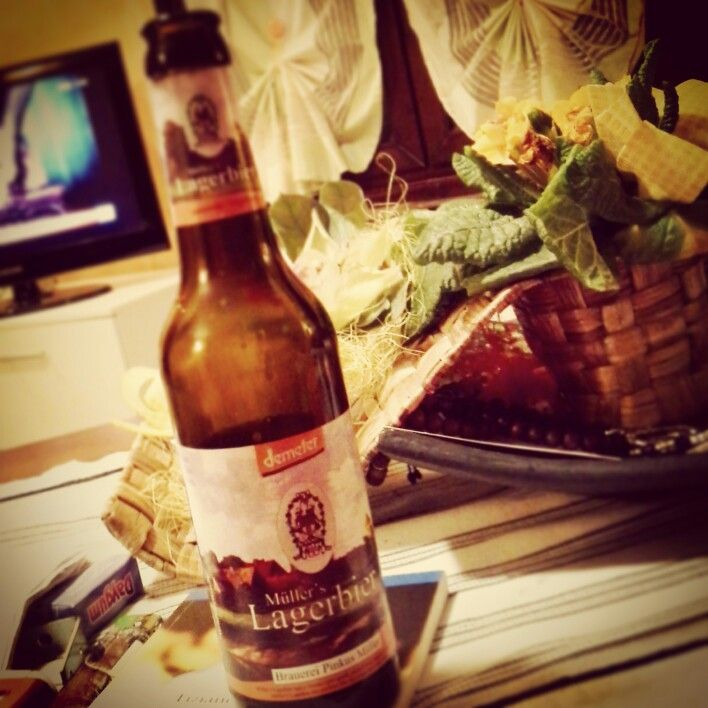 A casa, birra biologica.