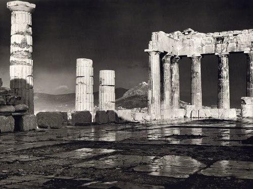 Fréderic Boissonnas - The Parthenon after the rain, 1908