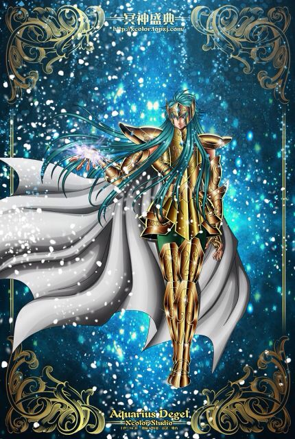Saint Seiya - The Lost Canvas - Aquarius Degel