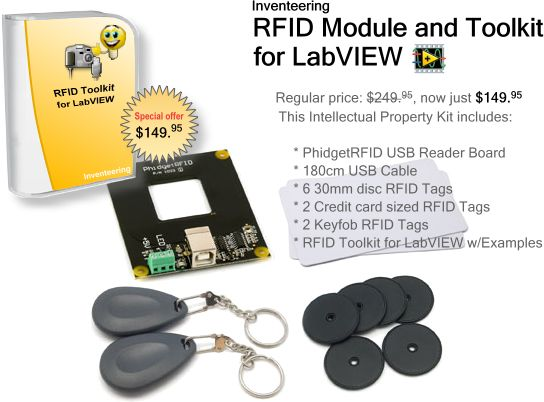 Inventeering Products - RFID Module and Toolkit for LabVIEW