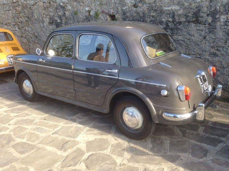 1954 Fiat 1100 (photos by Alessandro Rega on Facebook)