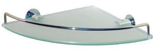 Dowell Single Corner Glass Shelf, Chrome Finish (2001 001 01), 2015 Amazon Top R…   – most beautiful shelves
