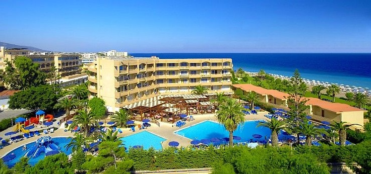 Sun Beach Resort @ Ialyssos (Rhodes), Greece