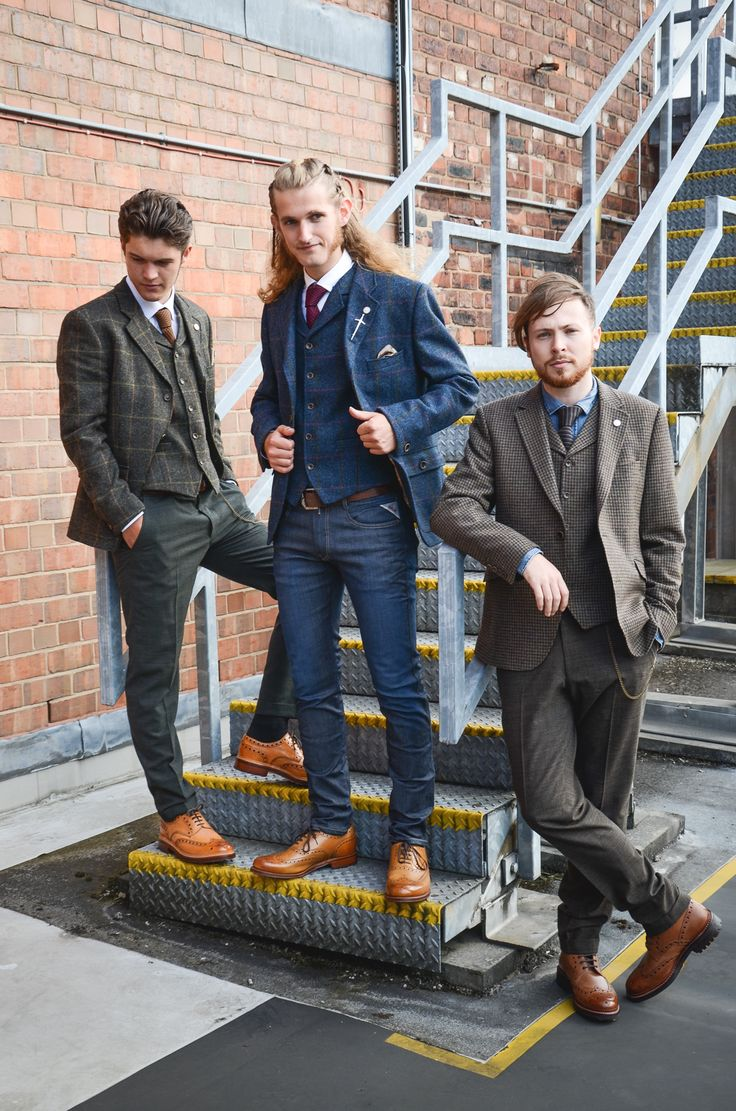 The Tenmours modelling for Accent Clothing in Leeds