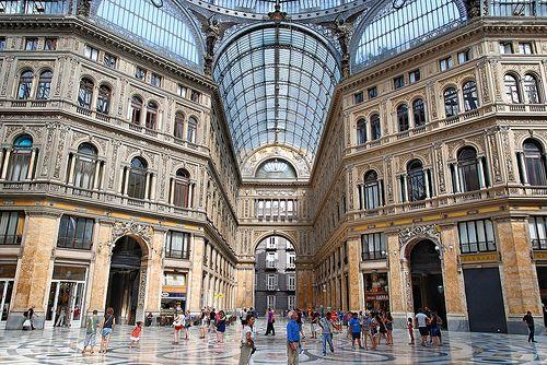 Galleria Umberto, Napoli  #TuscanyAgriturismoGiratola