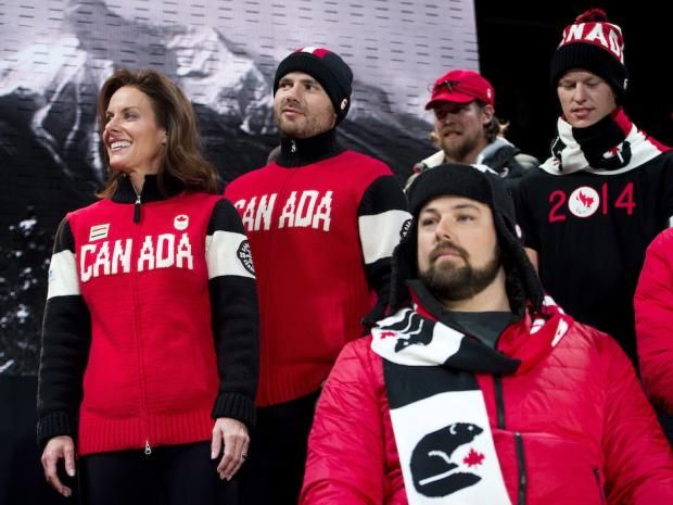 Hudson's bay was the official uniform of team Canada at 2014 Sochi Olymoics clothing for members of the Canadian Olympic team.Hudson's bay was clothing sponsor in 1936, 1960, 1964, 1968, 2006, 2008, 2010, 2012, and 2014 Olympics #Olympic #MKM915 #canada
