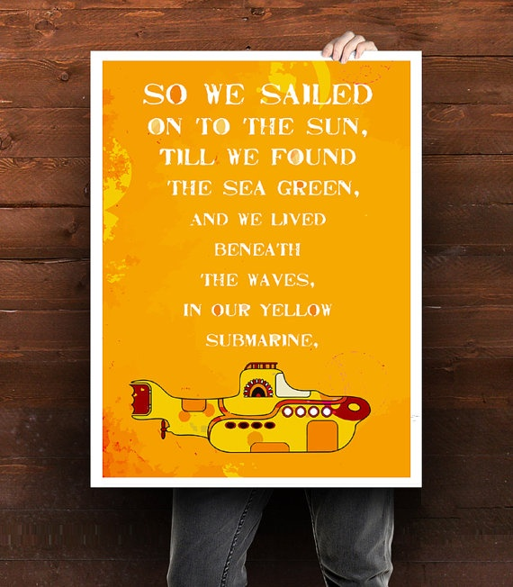 Be Our Guest Lyrics Sheet Music: Best 10+ Yellow Submarine Ideas On Pinterest