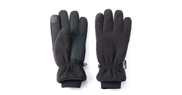 Men's Tek Gear WarmTek Microfleece Gloves - For Men WarmTek fabric keeps you warm and comfortable when the temperature drops 3M Thinsulate insulation Waterproof Touchscreen compatible