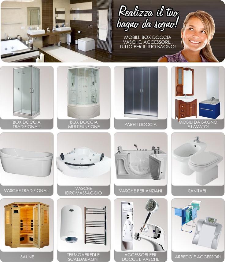 realizza il tuo bagno da sogno su: http://www.giordanoshop.com/cp/mobili-da-bagno.html troverai fantastiti mobili da bagno