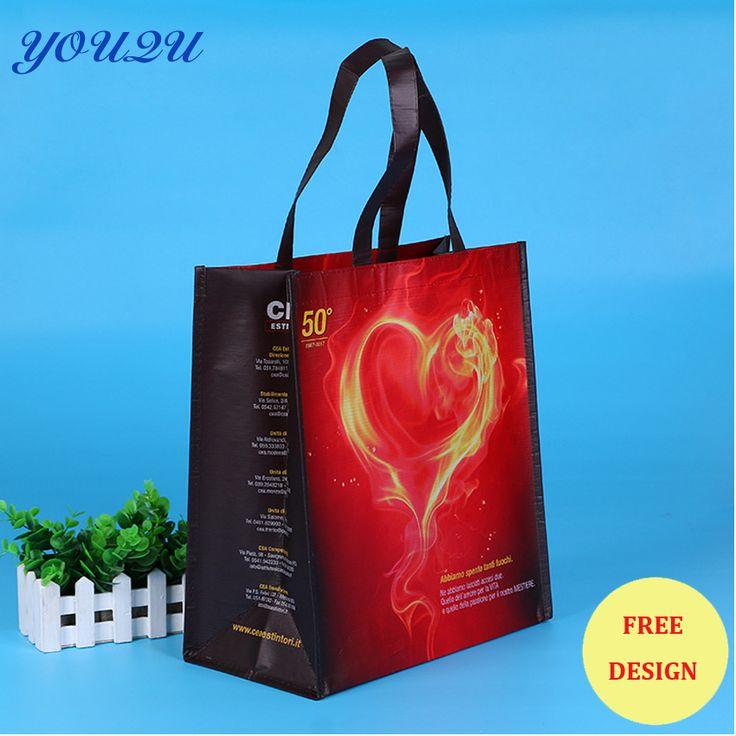 Customize PP non woven bag, non woven pp bag,  pp laminate printing bag +escrow accept