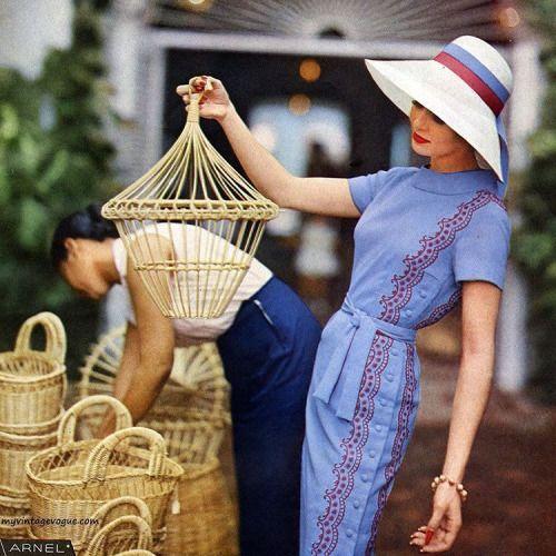 Dress by Dan Keller 1959