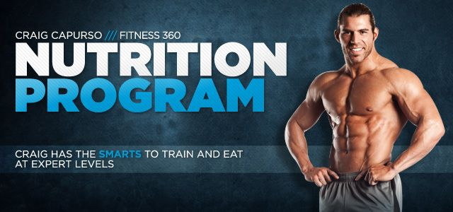 Craig Capurso's Complete Nutrition Program!