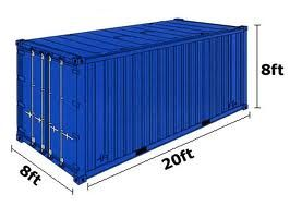 Containers sizes Shipping Containers 20ft 40ft - Worldwide Customs & Forwarding Agents