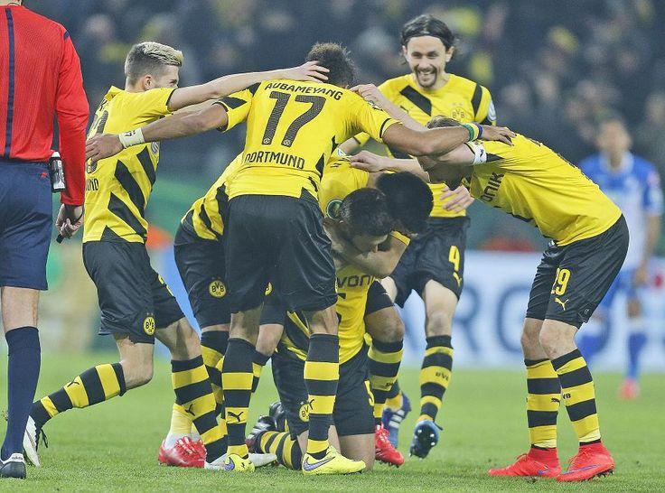 Sebastian Kehl hat Borussia Dortmund ins Halbfinale des DFB-Pokals geschossen.                                                                                                                                                      Mehr