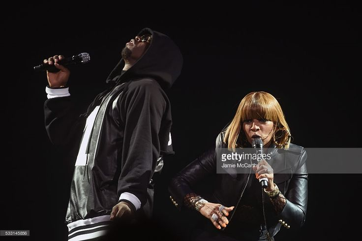 Sean 'Diddy' Combs aka Puff Daddy (L) and Mary J. Blige perform onstage during the Puff Daddy and The Family Bad Boy Reunion Tour presented by Ciroc Vodka And Live Nation at Barclays Center on May 20, 2016 in New York City.