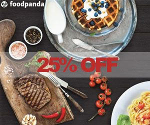 New Customer's Special - 25% Off Storewide on ‪#‎foodpanda‬ Get flat 25% discount on all orders from top restaurants by entering first 6 digits of your DBS and POSB card at Foodpanda. Offer is valid for limited period!! Get the coupon from here - http://www.vouchercodes.com.sg/foodpanda?utm_source=pinterest&utm_medium=marketing&utm_campaign=foodpanda