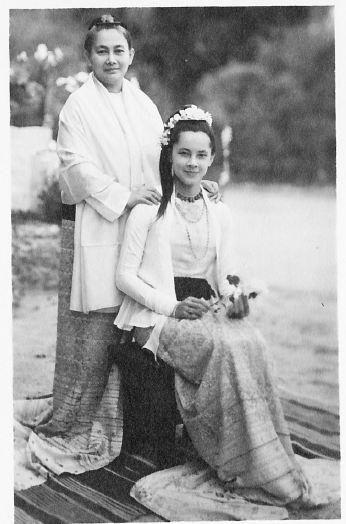 Tin Tin Ma Lat and Yanada Nat Mai,princess of Burma