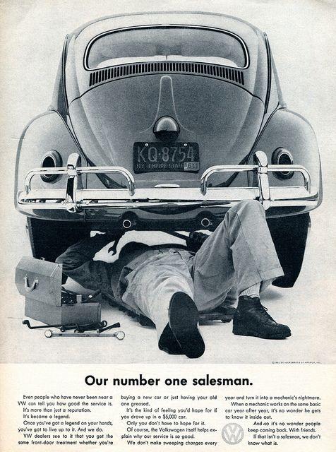 1961 Volkswagen Advertising