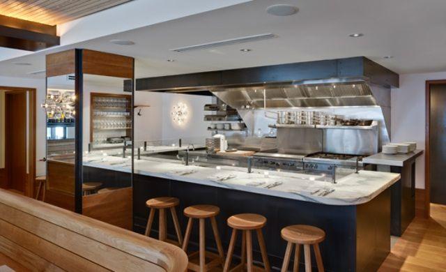 Open kitchen restaurant design kitchen design ideas pinterest restaurant open kitchens - Small restaurant kitchen design ...