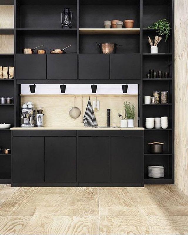 Nice Küche Classic In Schwarz Von Lundia Awesome Design