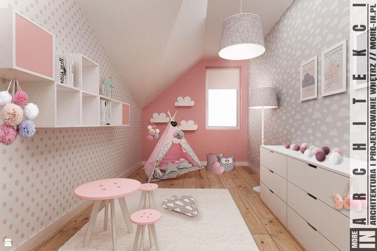 Pokój dziecka styl Skandynawski - zdjęcie od More IN - Pokój dziecka - Styl Skandynawski - More IN
