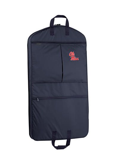 WallyBags® Ole Miss Rebels 40-in. Garment Bag with Pockets