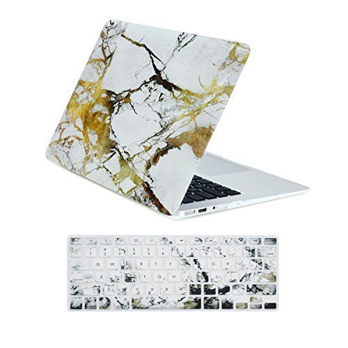 "TOP CASE 2 in 1 White/Gold Marble Bundle for MacBook Air 13""  TOP CASE 2 in 1 White/Gold Marble Bundle for MacBook Air 13""  Expires Oct 12 2017"