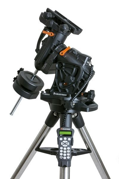 The Brand New Celestron CGX Equatorial Mount and Tripod available soon from Tring Astronomy Centre, The UK's friendly Astronomy Experts.