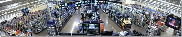 How well do panoramic CCTV cameras work