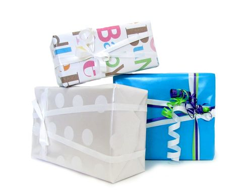 #Gift #wrapping.  If you choose not to gift wrap, your gift will be sent with some nice colored tissue paper in the box. - $2.99