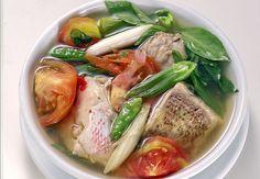 Manado Soup Sour Fish = Resep Kuah Asam Manado. Kumpulan Resep Masakan Khas Sulawesi: Sup Kuah Asam (Manado, Sulawesi)