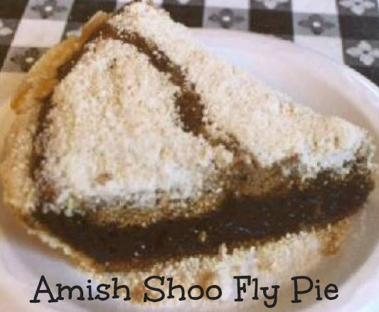 Shoo Fly Pie Recipe - An Amish Tradition  |  whatscookingamerica.net