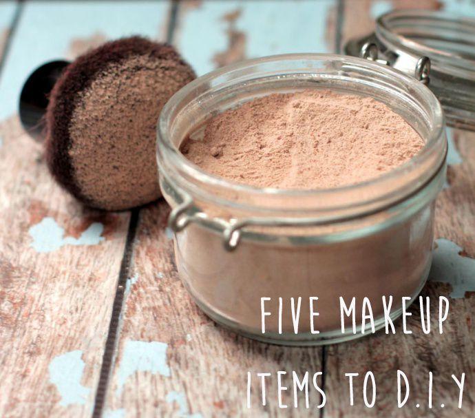 Five Makeup Items to D.I.Y. | DIY | Beauty Secrets | Homemade makeup | do it yourself makeup | Homemade eyeshadow | Homemade lipgloss | Homemade mineral makeup