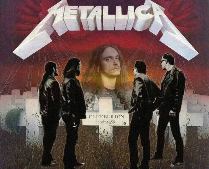 Metallica (RIP) Cliff Burton   RIP Cliff Burton   Pinterest ...