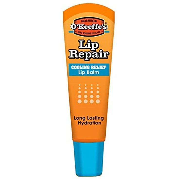OKeeffes Cooling Lip Repair Lip Balm for Dry, Cracked Lips Tube 0.25 oz #OKeeffes
