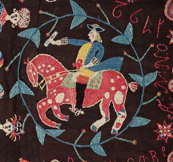 Swedish Folk Art embroidery