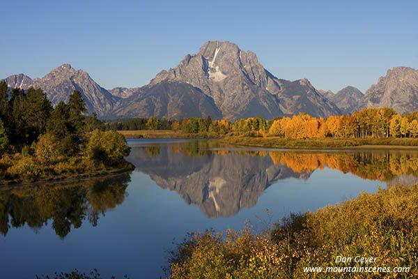 Oxbow Bend, Grand Tetons, WY...one of the most beautiful places I've ever visited!  Cannot wait to go back.