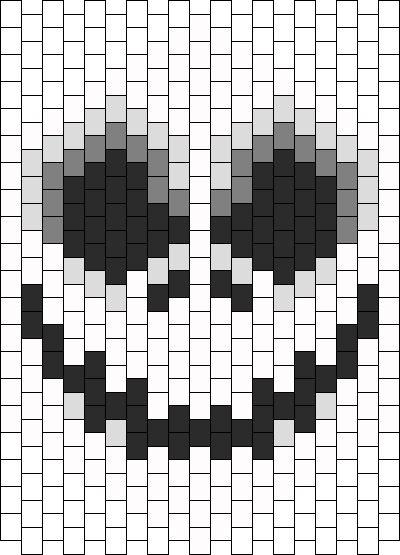 http://kandipatterns.com/patterns/characters/face-of-jack-skellington-mask-16296