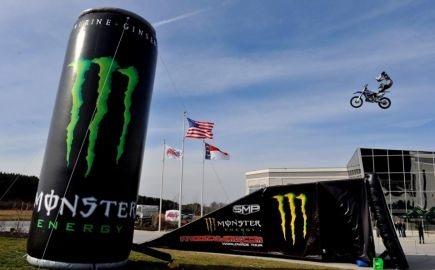 The announcement of Monster Energy and Kyle Busch Motorsports joining forces