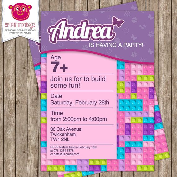 f9f907ccd48872d0511d218b0c1d1ab9 printable invitations lego friends party invitations best 25 lego friends party ideas on pinterest lego friends,Lego Party Invitation Ideas