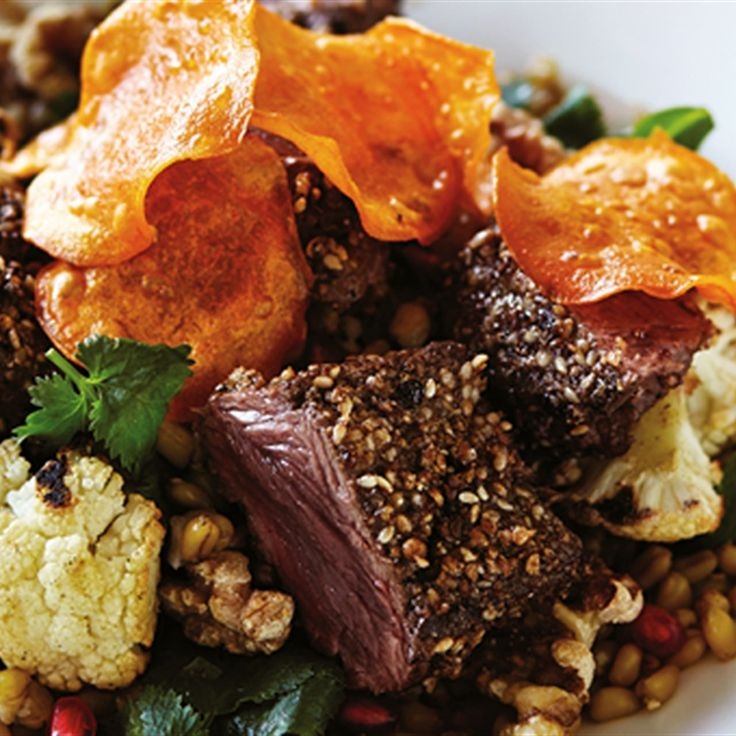 Try this Dukkah Kangaroo recipe.