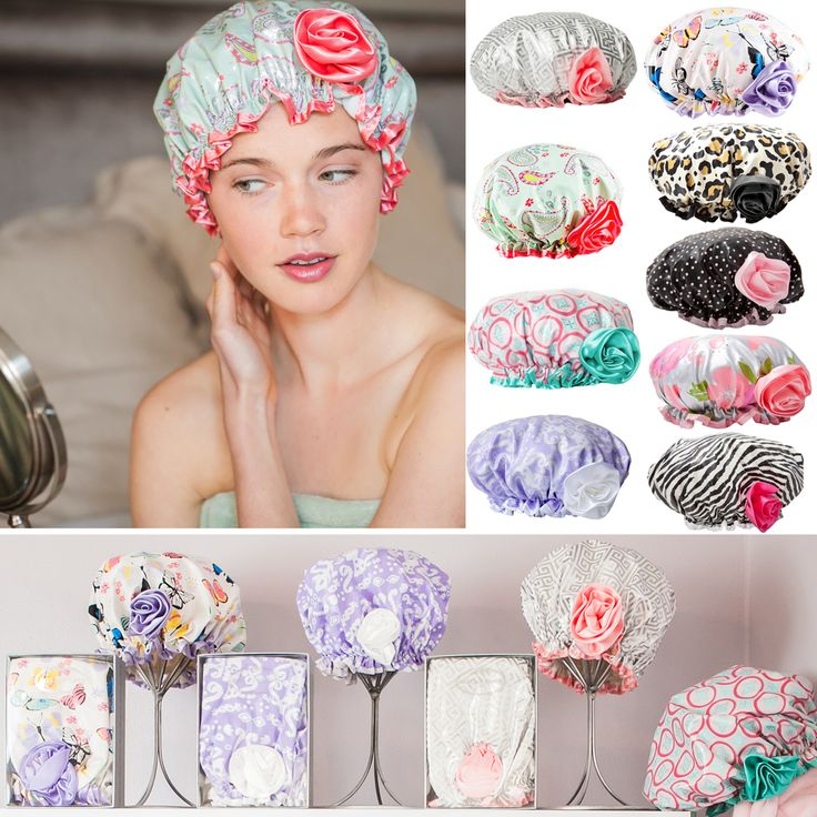 Bella's Bath Diva Shower Cap, available in 9 darling patterns and high quality are specially lined and roomy so that you can take care of your hair and save time in your beauty routine all in gorgeous style. Make the switch, you won't be able to live without one. Your hair and your schedule will thank you forever:) Perfect and unique gift for girls,women and bathing beauties everywhere. Shop bellailfiore.com