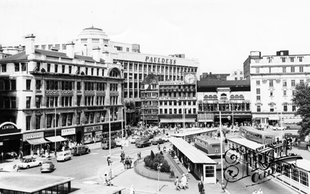 Manchester, Market Street and Piccadilly Junction