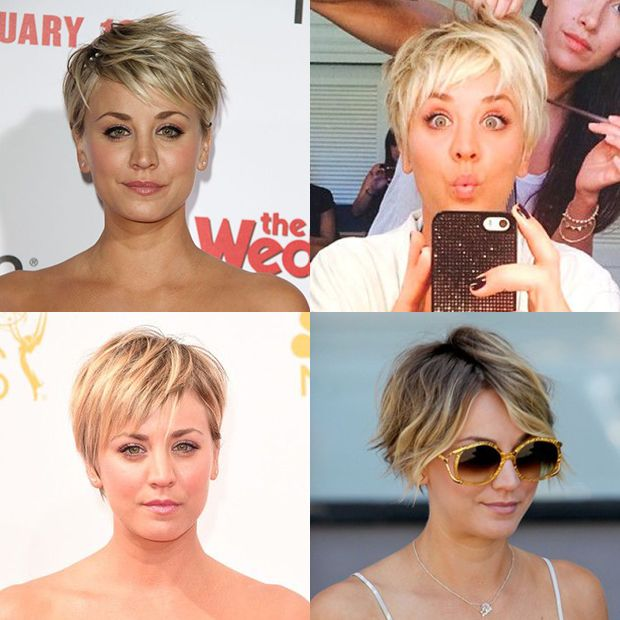 kaley cuoco short hair pixie cut new hair pinterest bobs blog und haar. Black Bedroom Furniture Sets. Home Design Ideas