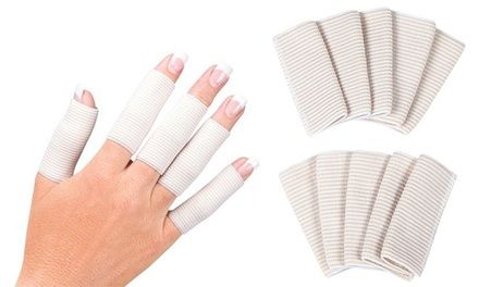 Sleeves gently compress the fingers to increase blood circulation, reduce swelling, and ease pain and stiffness