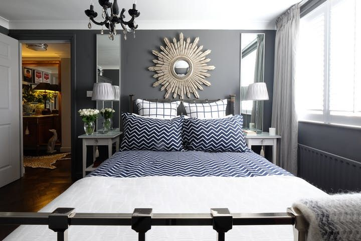 Best 25+ Mirrors behind lamps ideas on Pinterest | Mirror behind nightstand, Transitional beds ...