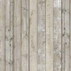 Papier peint - NLXL by ARTE - Scrapwood 7 - Gris/ effet bois
