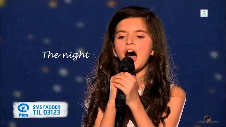 """At Last "" - Angelina Jordan"