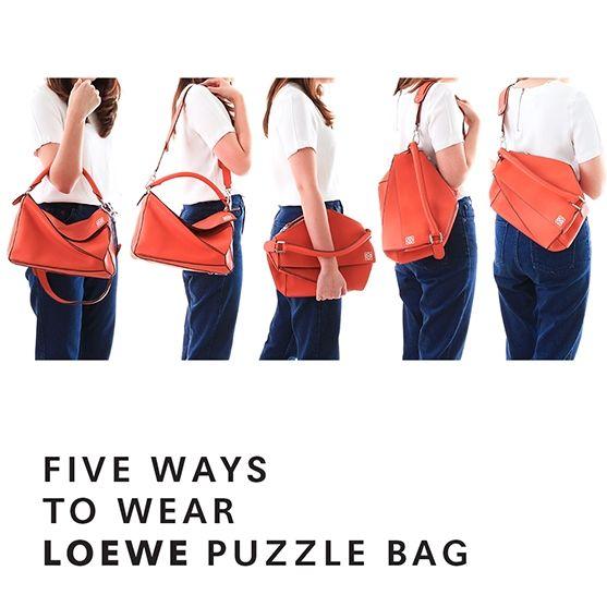 Loewe puzzle bag. SO NEAT