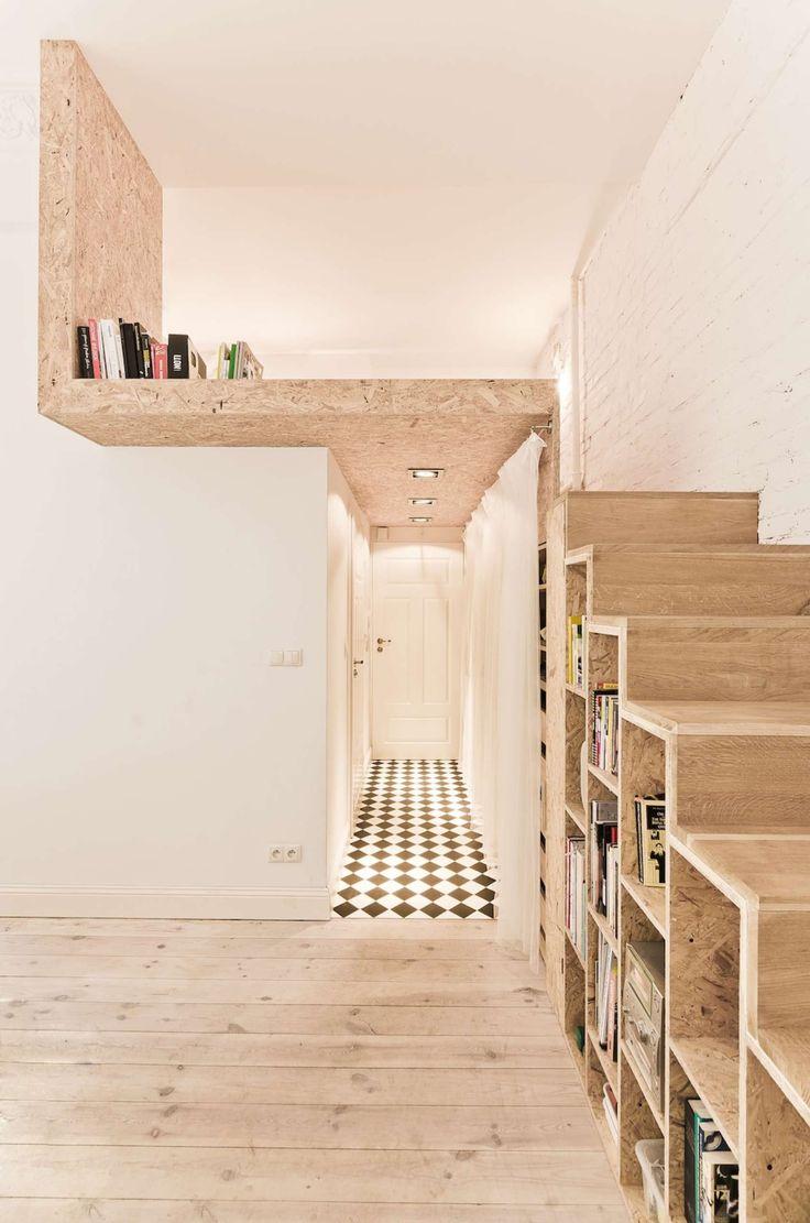 Micro-Apartment by Ewa Czerny & 3XA ! Enjoy !
